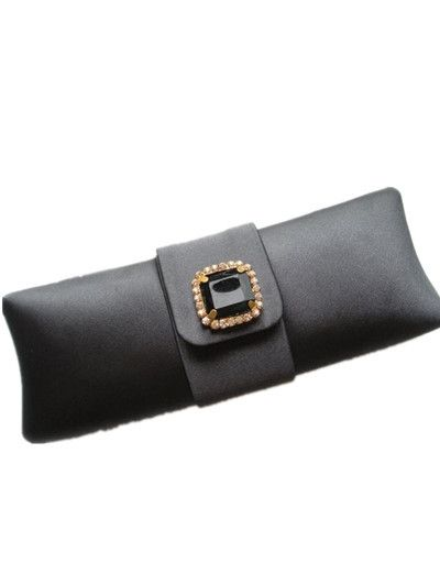 Morpheus Boutique  - Black Satin Crystal Morpheus Boutique Quilted Evening Purse, CA$61.53 (http://www.morpheusboutique.com/products/black-satin-crystal-morpheus-boutique-quilted-evening-purse.html)