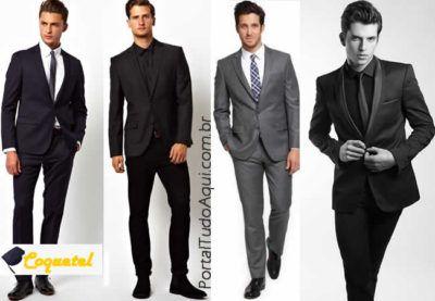 lindos modelos de traje para formatura masculino