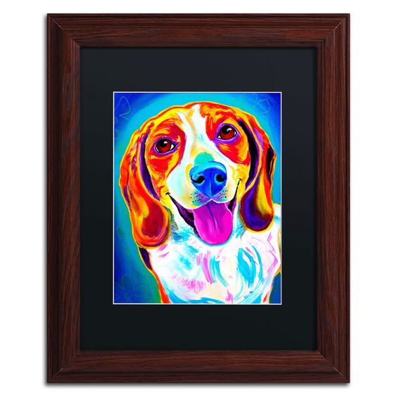 'Lucy' by Alicia VanNoy Call Framed Painting Print