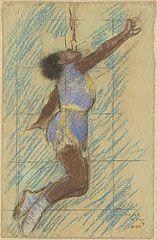 Miss Lala at the Fernando Circus, Edgar Germain Hilaire Degas, 1879