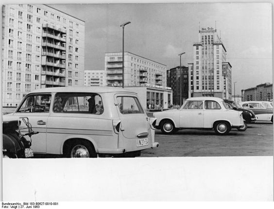 Karl-Marx-Allee, June 1963