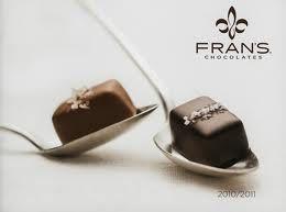 fran's chocolates = chocolate love!