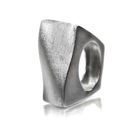 Mousumi Shaw | Bilbao Curved Square Ring
