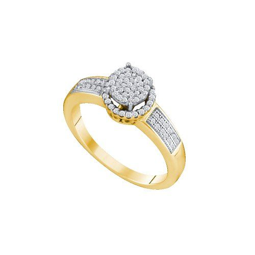 Engagement Rings Simple Size 10 10k Yellow Gold Diamond Halo Engagement Ring Flower Sha Engagement Rings Best Engagement Rings Halo Diamond Engagement Ring