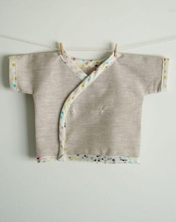 Newborn Kimono Shirt - the purl bee