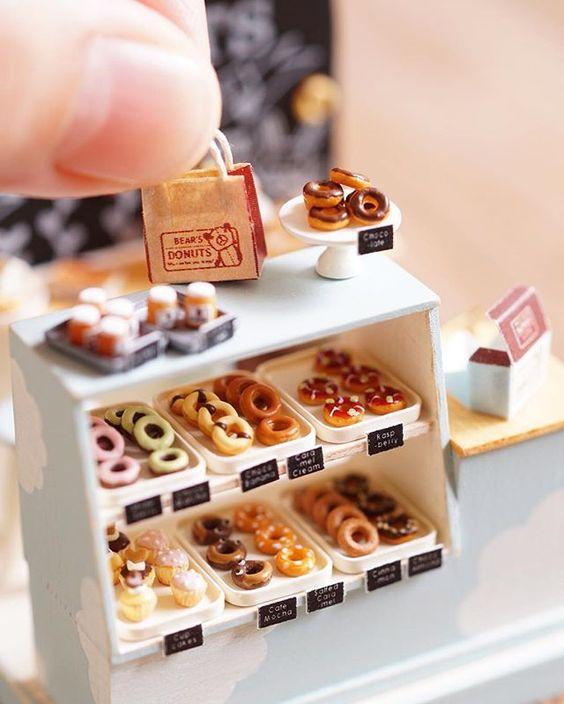 2016, Donuts shop♡ ♡ by ochibits