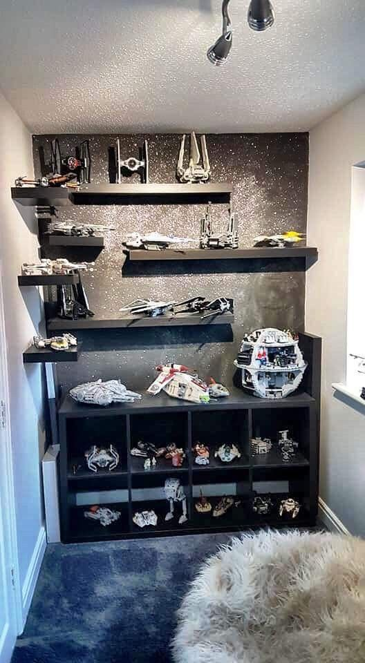 Pin By Silvia Sanchez On Henry Star Wars Bedroom Decor Star Wars Room Star Wars Bedroom
