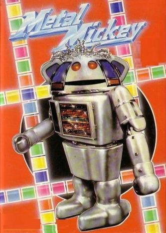 Metal Mickey.  -  Unbeknownst to many of his fans, Metal Mickey was actually already a minor showbiz personality before his eponymously titled series was first broadcast. In 1978 he released a novelty record, 'Lollipop', on the EMI label and on the back of this started making appearances on some of the most popular television shows of the time: TISWAS, The Generation Game, Jim'll Fix It and Game for a Laugh to name a few.