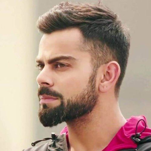 Virat Kohli Hairstyle Men S Hairstyles Haircuts 2019 Virat Kohli Hairstyle Virat Kohli Beard Indian Hairstyles Men