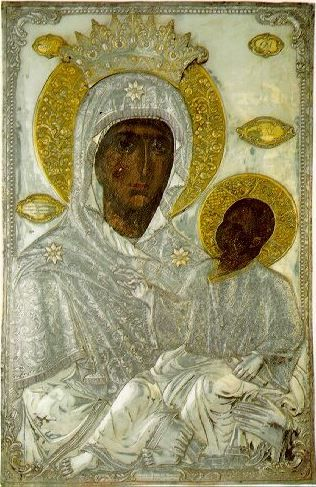 "Icon of the Mother of God ""Stabbed"""