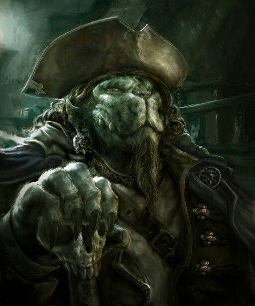 Beware the ferocious lion pirate!