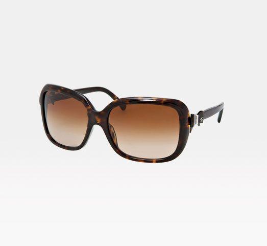 Chanel bows glasses.