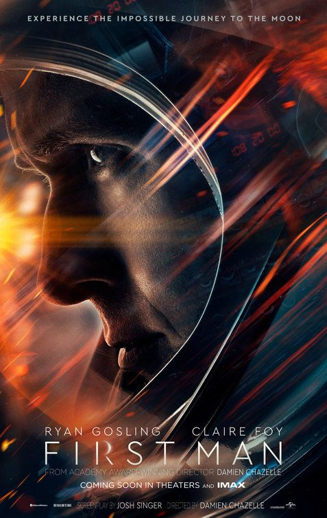 Click To View Extra Large Poster Image For First Man Capas Para