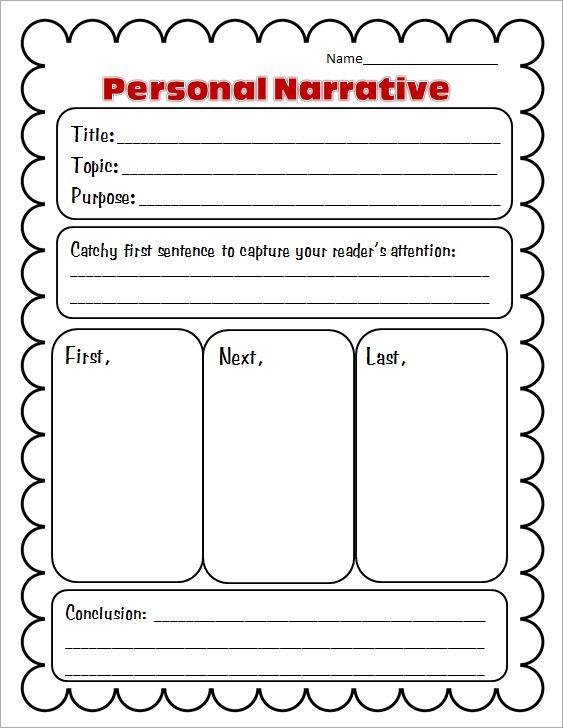 Quick question personal narrative essay?