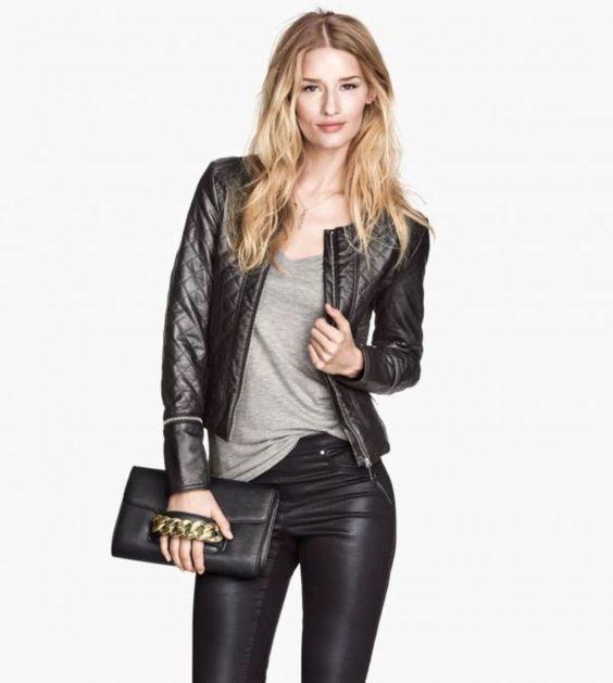 Womens leather jacket styles – Modern fashion jacket photo blog