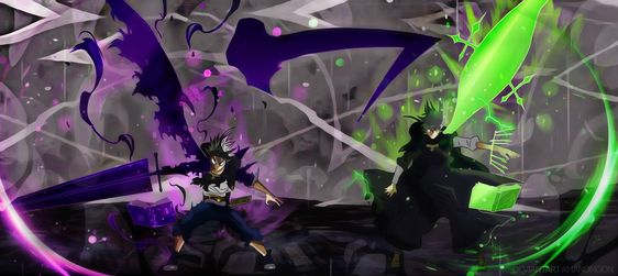 Asta and Yuno vs Licht Black Clover Episode 101. They are finally at full strength. Let's see/