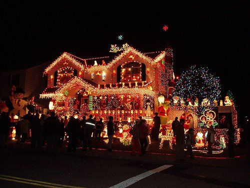 I wonder how much the After Christmas electric bill is?