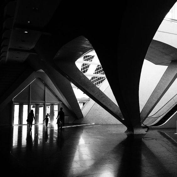 #sombras de #calatrava a #valencia N2R Lifestyle