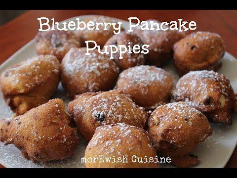 Blueberry Pancake Puppies Denny S Copy Cat Recipe By Morewish Youtube Pancake Puppies Tasty Pancakes Blueberry Pancakes