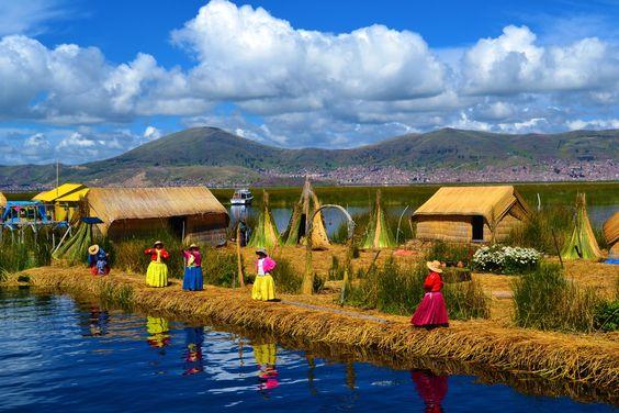 Lac Titicaca, Perou