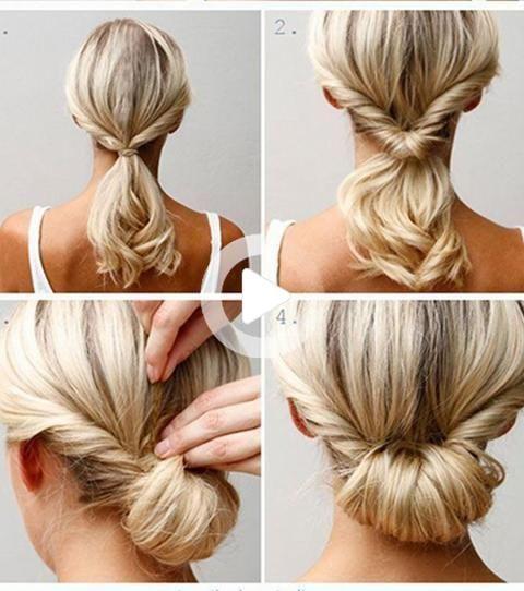 Pinterest In 2020 Medium Hair Styles Easy Hairstyles Easy Hairstyles For Medium Hair
