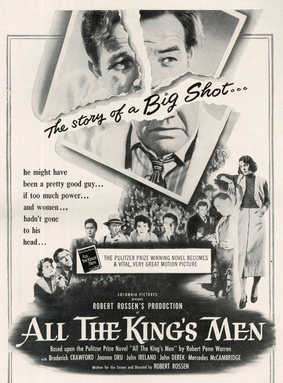 ALL THE KING'S MEN AD