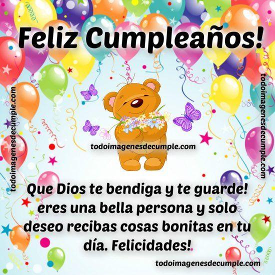 imagenes de feliz cumpleaños eres una bella persona MILLONARIA !! Pinterest Mars