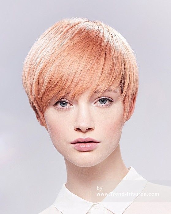 kurze blonde weiblich gerade farbige bob frauen haarschnitt frisuren hairstyles db haar looks. Black Bedroom Furniture Sets. Home Design Ideas