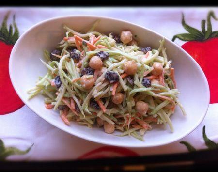 Need a simple dinner solve? Enter Sesame Peanut Pineapple Broccoli slaw!