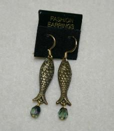 Bronze Fishes by SilverbirchDesigns, $18.00 USD