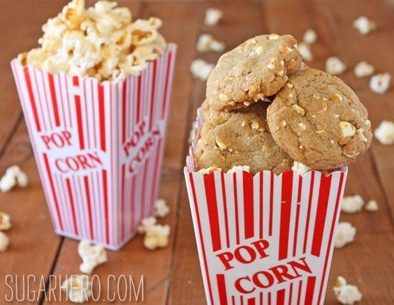 Kettle Corn Cookies