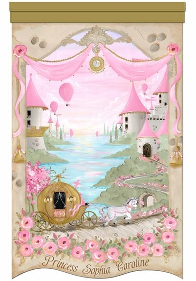Rosenberry Rooms Princess Wall Mural