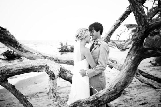 Driftwood Beach Jekyll Island Weddings