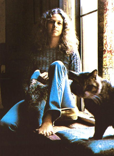 Cat in the sun with Carole King