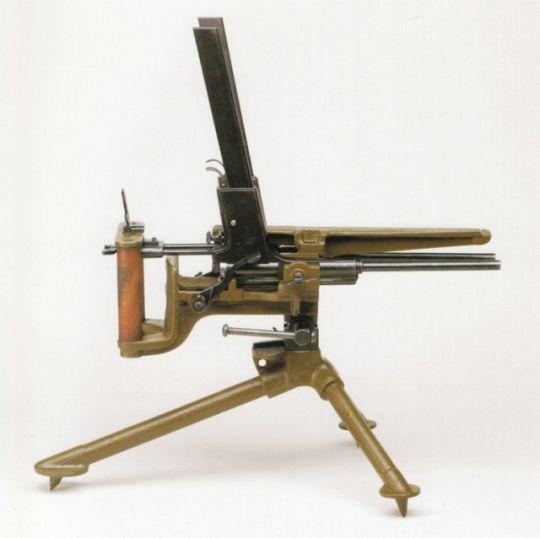 dual machine guns