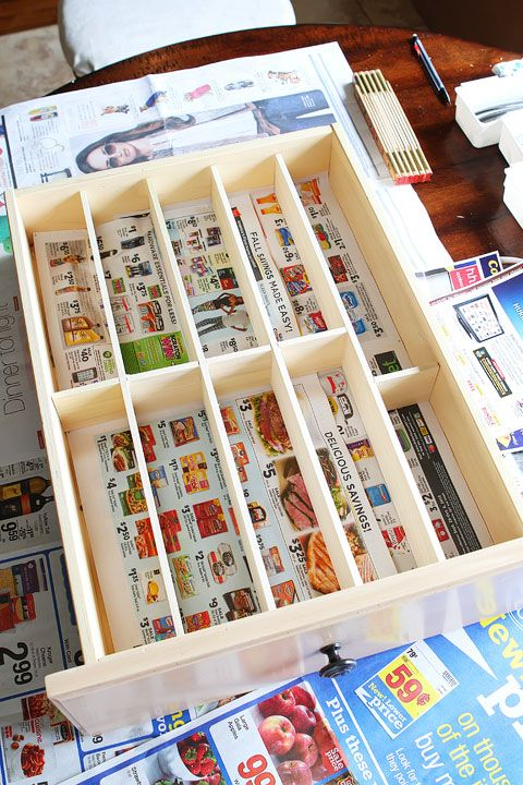 DIY Custom Wooden Drawer Organizers | Drawer Organisers, Super Easy And  Drawers