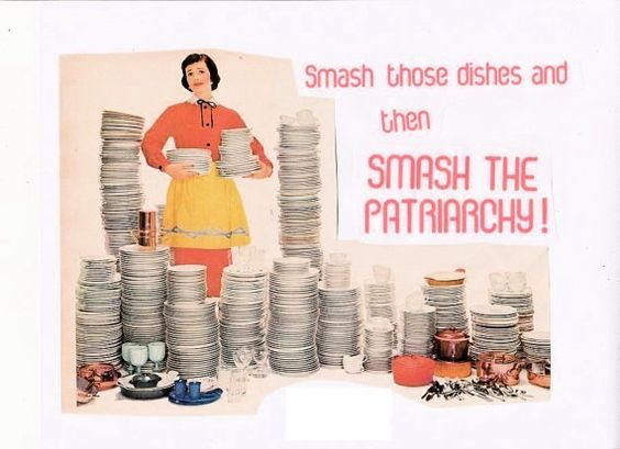 Smash The Patriarchy ART PRINT by TheEscapistArtist on Etsy