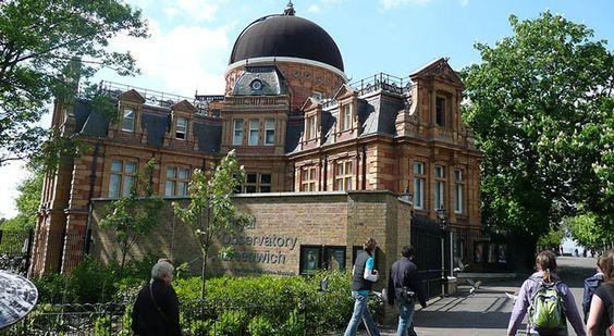 Obserwatorium astronomiczne w Greenwich. Adushawikipedia