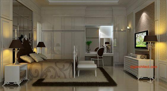 Desain Interior Klasik | Kamar Tidur 2