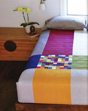Additional Images of Bedroom Style Perfectly Pieced by April Rosenthal - ConnectingThreads.com: