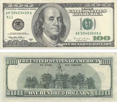 The Evolution Of The 100 Bill In 2020 Banknotes Money Dollar Banknote Dollar