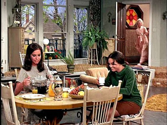 Mary Rhoda and Phyllis Mary Tyler Moore Show set: