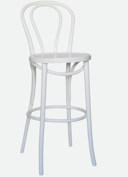 Barstool thonet furnish pinterest breakfast bars kitchen bars and products - Metal madeleine stool ...