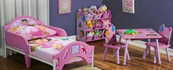 Toddler rooms dora the explorer and babies r us on pinterest for Dora the explorer bedroom ideas