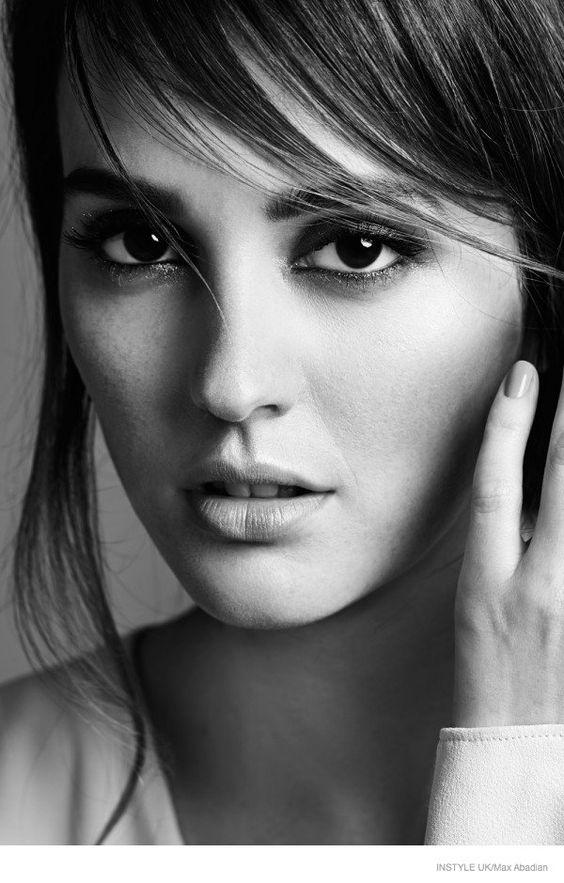 Leighton Meester Poses for InStyle UK Shoot by Max Abadian: