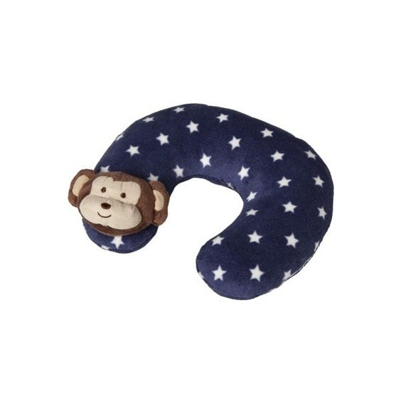 Cocalo Baby Plush Neck Roll Monkey Mania ($14) found on Polyvore featuring travel