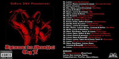Deutscher Untergrund Rap: DeRote – AlpträumeDerMenschheit – Tag X (2008) -4F...