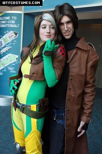 Classic Rogue and Gambit Costumes