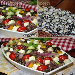 Que tal uma saladinha bem incrementada para o #almoço? A dica é a saborosa Salada de Fava Rajada!  #Receita aqui: http://zip.net/bhp2xT