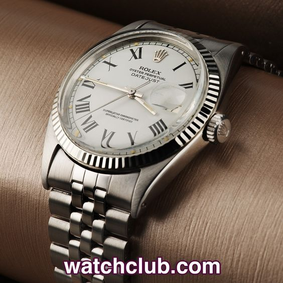 Rolex Datejust Gents 36mm Vintage Model Ref 1601